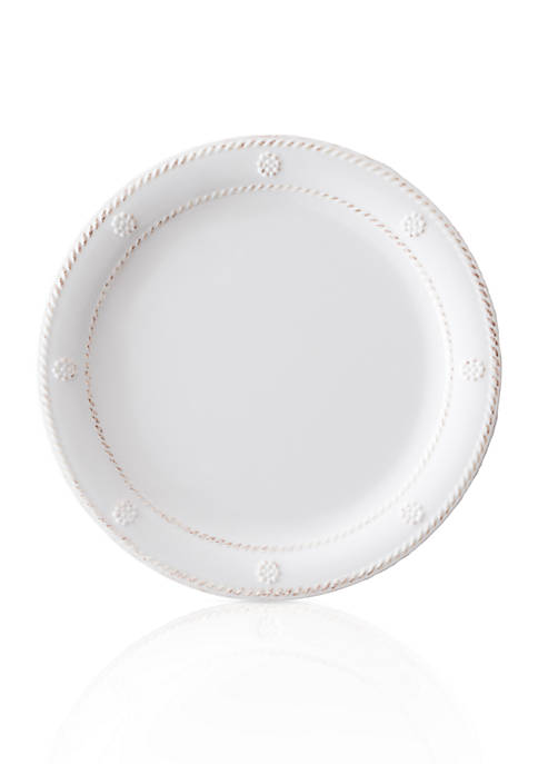 Juliska Berry & Thread Melamine Whitewash Dessert/Salad Plate