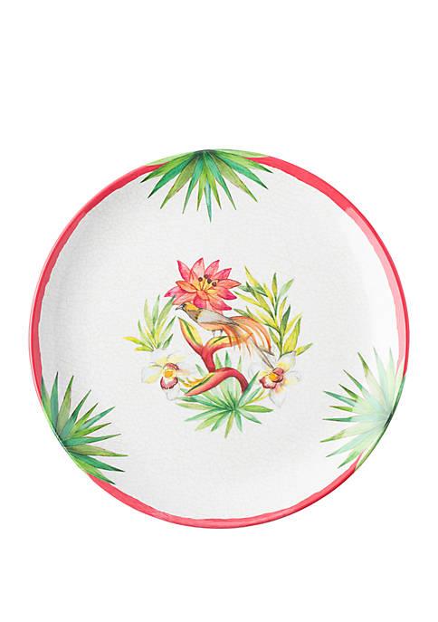 Juliska Flora and Fauna Melamine Dinner Plate