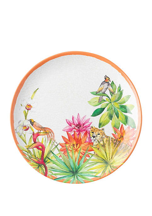 Juliska Flora and Fauna Melamine Dessert/Salad Plate