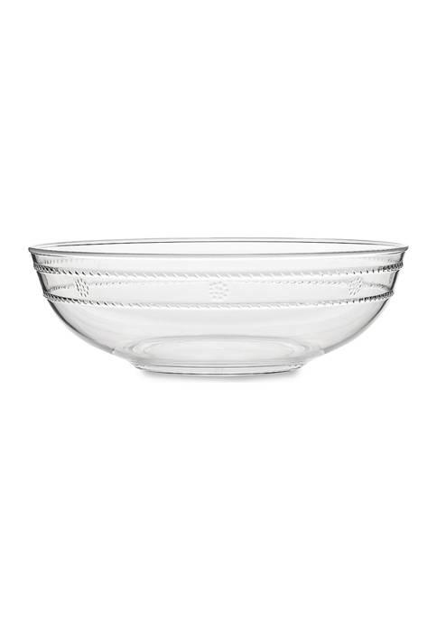 Juliska Isabella Acrylic 13 Inch Serving Bowl