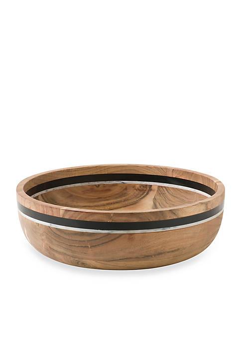 Juliska Stonewood Stripe Serving Bowl