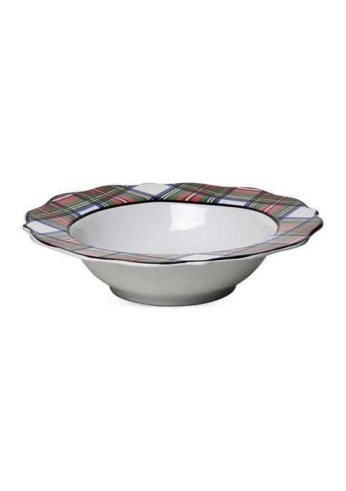 Juliska Stewart Tartan 13 Inch Serving Bowl