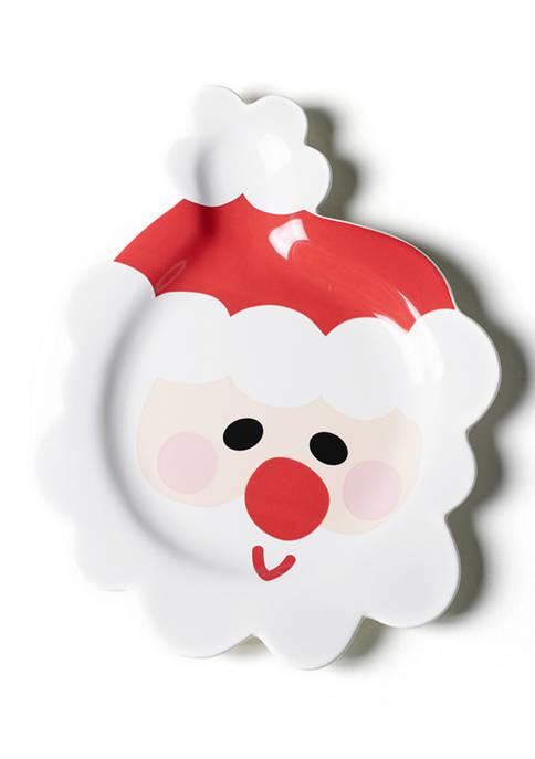 Santa Shaped Platter
