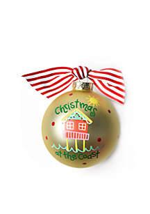 Christmas at the Coast Ornament
