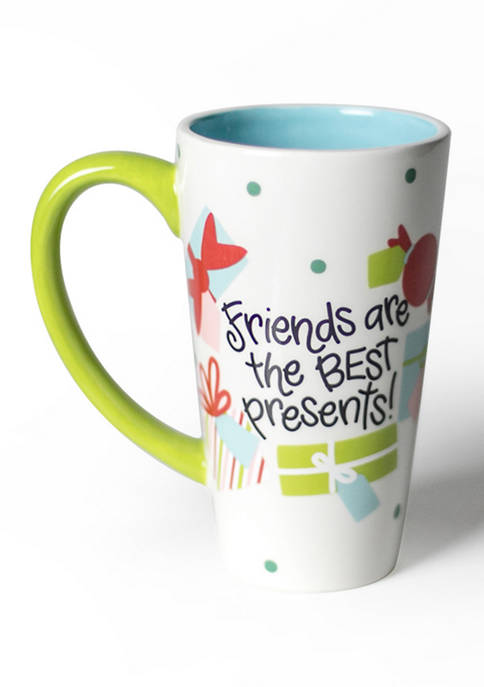 COTON COLORS Friends are the Best Presents Mug