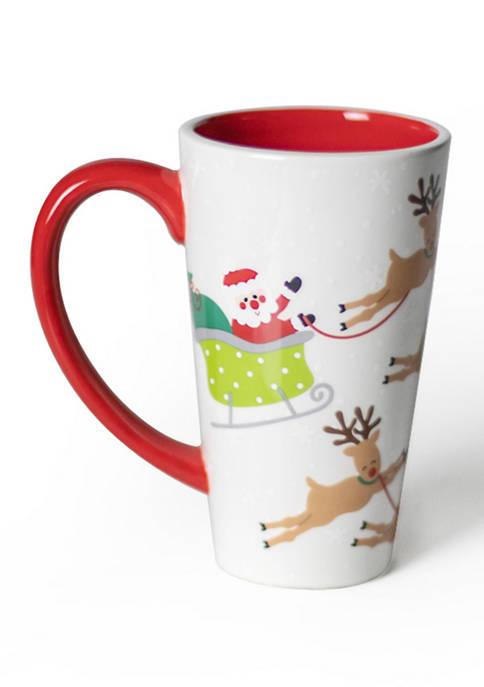 COTON COLORS Santa Sleigh Mug
