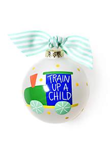 Train Up A Child Ornament