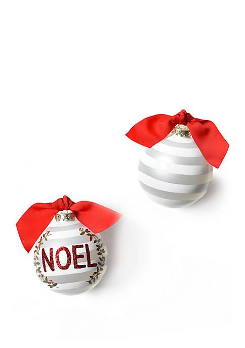 Noel Berry Glass Ornament