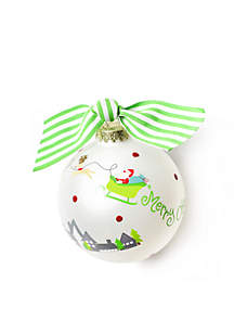 Merry Christmas To All Ornament