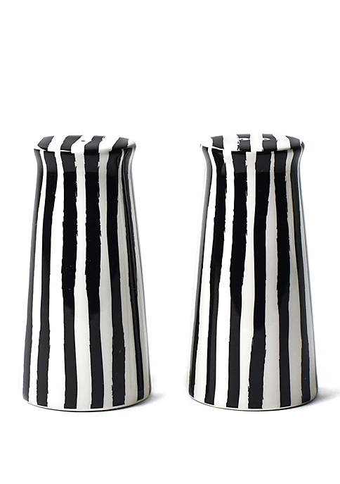 COTON COLORS Deco Pedestal Salt and Pepper Shaker