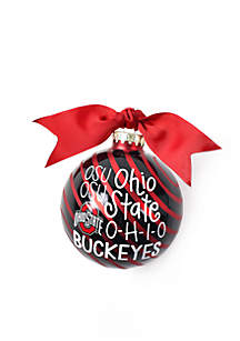 Ohio State Word Collage Ornament