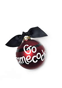 University Of South Carolina Stripe Ornament
