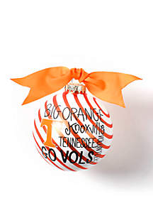 Tennessee World Collage Glass Ornament