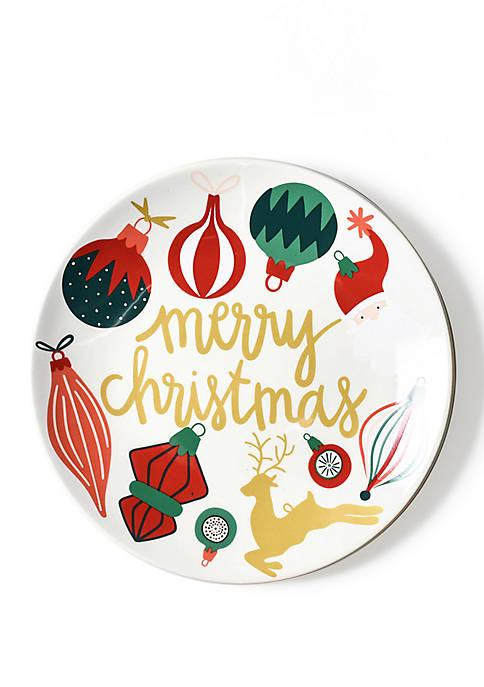 Vintage Ornament Salad Plate