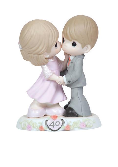 40th Anniversary Couple Figurine