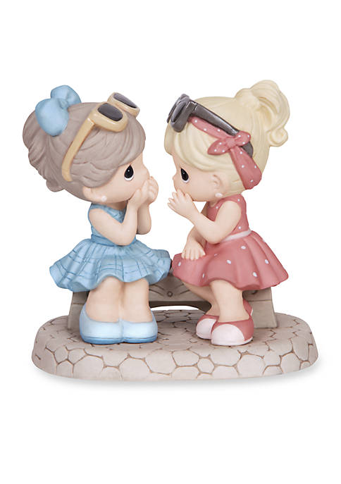 Precious Moments Thats What Friends Are For Bisque Porcelain Figurine