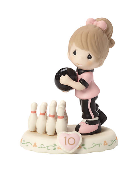 Growing In Grace, Age 10 Bisque Porcelain Figurine
