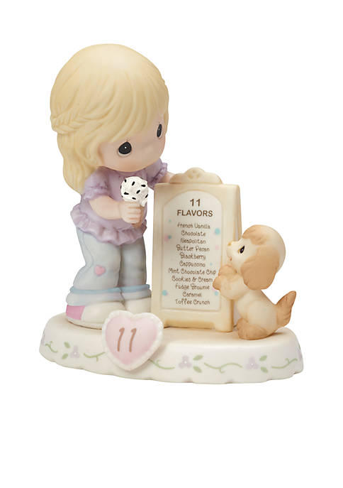 Growing In Grace, Age 11 Bisque Porcelain Figurine