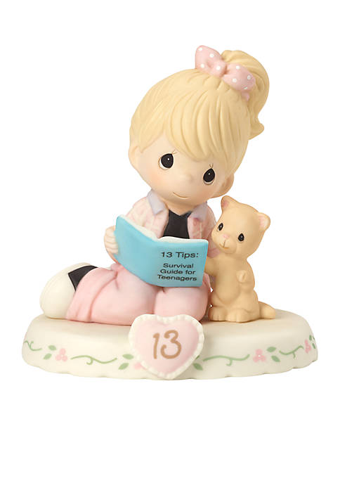 Growing In Grace, Age 13 Bisque Porcelain Figurine