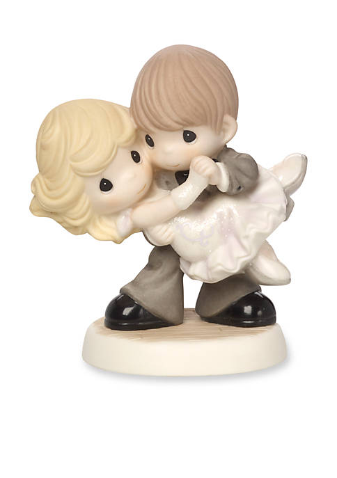 Precious Moments Dancing With My Star Bisque Porcelain