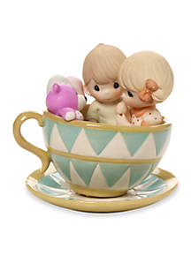 Precious Moments You Can Always Hold On To Me Bisque Porcelain Figurine View 1 variant