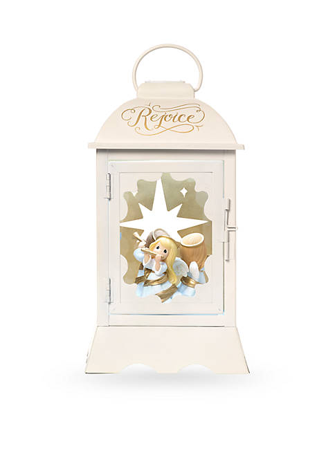 Precious Moments, Angelic Lantern Lighted Musical Resin/Metal