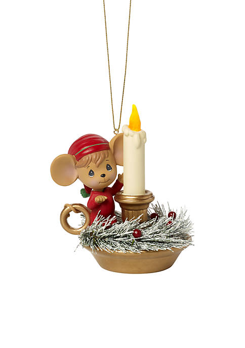 Ne'Qwa Art PM Making Spirits Bright Lighted Ornament