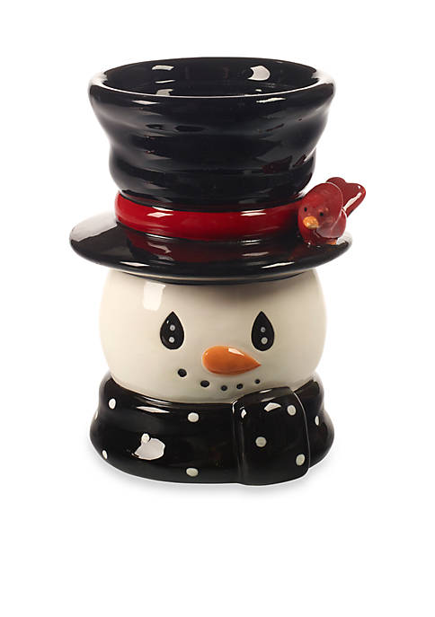 Snow Much Fun by Precious Moments Snowman, Candle Holder