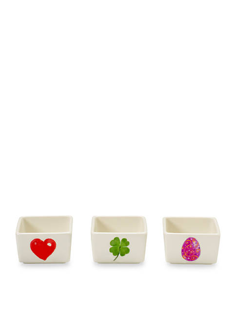 Celebrations by Precious Moments Small Spring Heart, Shamrock,