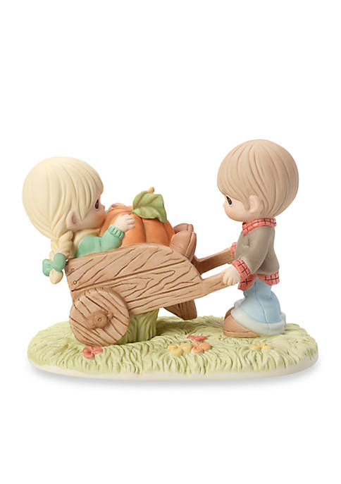 Precious Moments, I Picked The Best One Bisque Porcelain Figurine