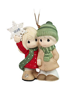 Dated 2018 Couple Ornament