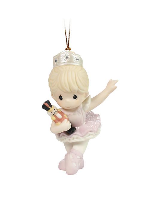 Precious Moments Nutcracker Ballerina Ornament