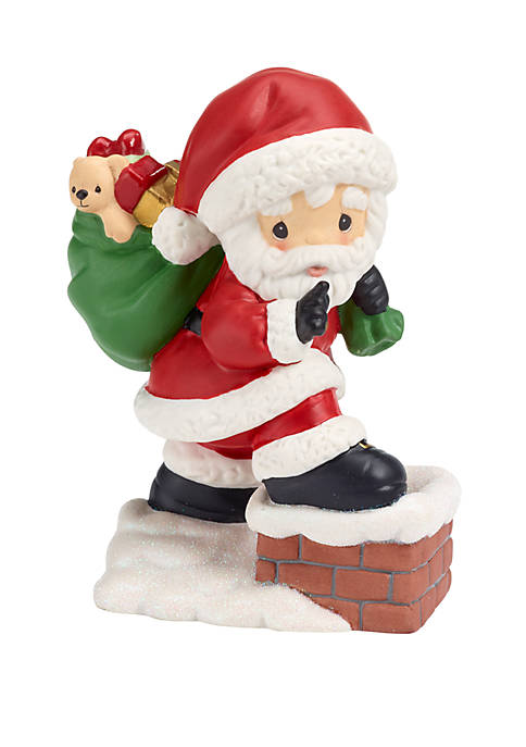Precious Moments Santa Figurine