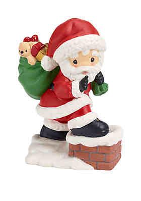 66f228f577b63 Precious Moments Santa Figurine ...