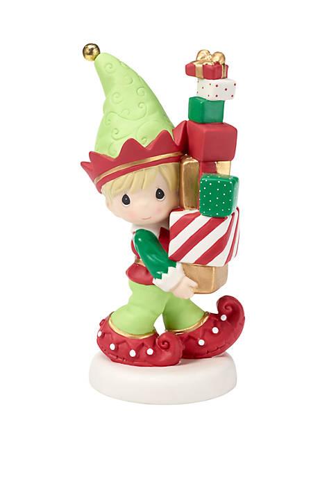 Precious Moments Elf Figurine