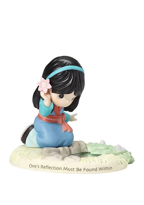 Disney Girl As Mulan By Pond Figurine