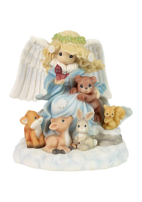 Precious Moments Angel Musical Figurine