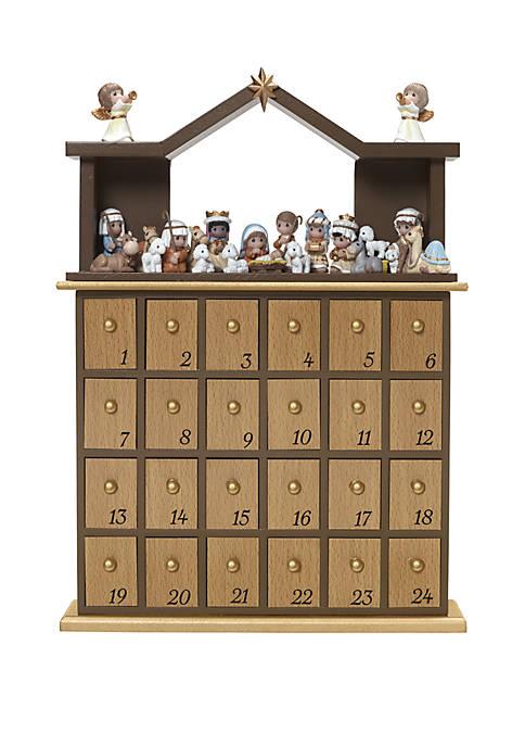 Precious Moments Set of 26 Nativity Advent Calendar