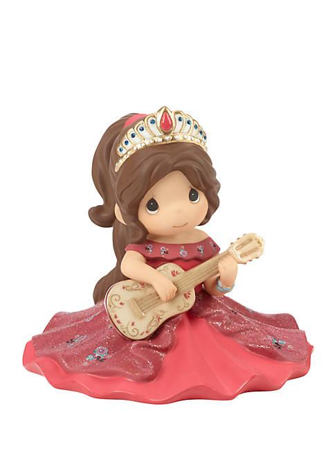 Disney Showcase Disney Elena Bisque Porcelain Make Your Own Music Figurine 182094