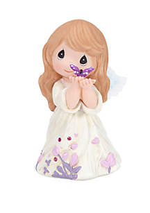 Precious Moments Precious Moments Confirmed In Love Resin Angel Figurine 18407