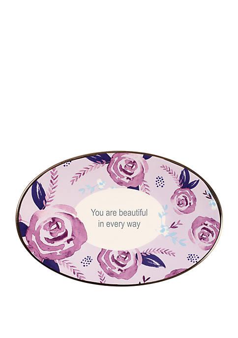 Precious Moments Inspirational Girl Ceramic You Are Beautiful