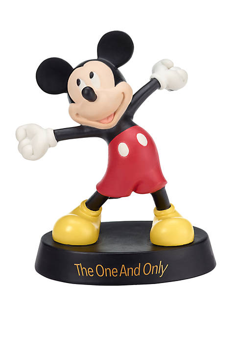 Disney Showcase Mickey Mouse Bisque Porcelain The One And Only Figurine 182703