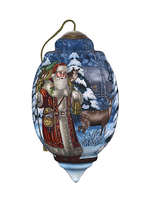 Precious Moments Limited Edition Santas Woodland Friends Ornament