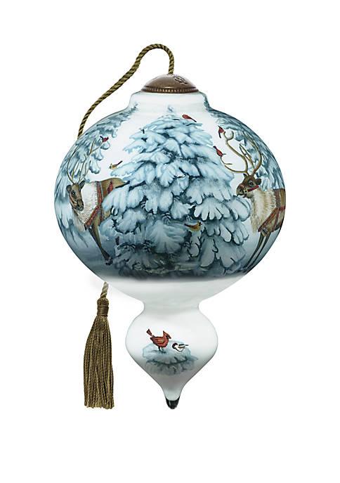 Santas Reindeer Ornament