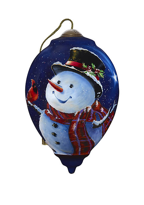 Precious Moments Magic Of Christmas Snowman Ornament