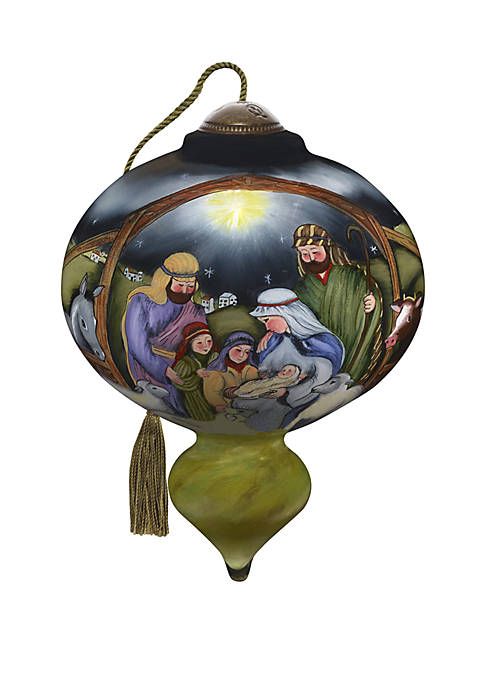 O Come Let Us Adore Him Ornament