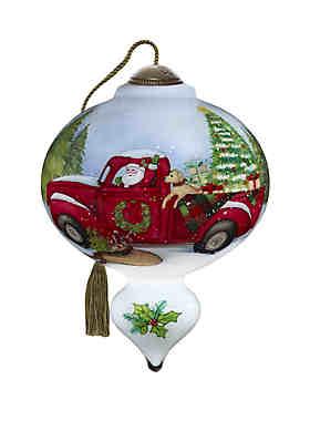 Precious Moments Santa's Special Delivery Ornament ...