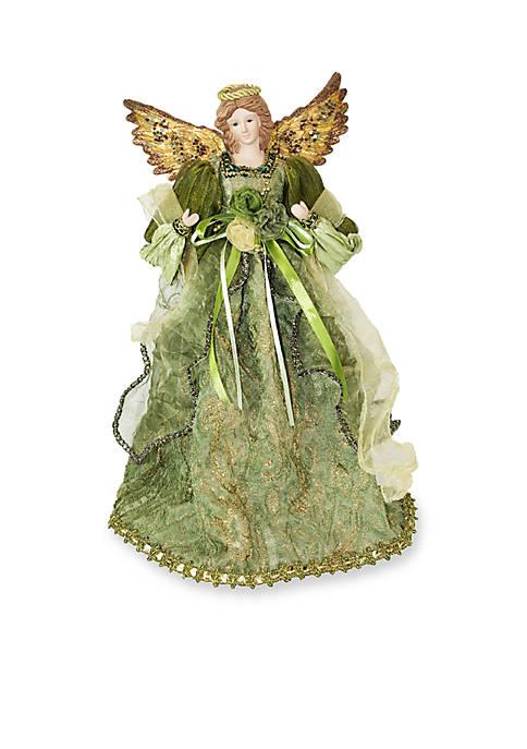 Season S Designs Green Angel Tree Topper Belk