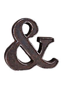 Rustic Ampersand