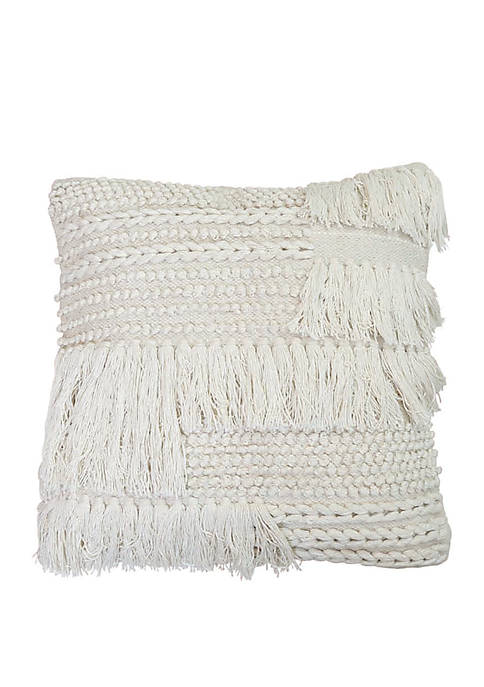 20 Inch x 20 Inch Hand Woven Bryn Pillow